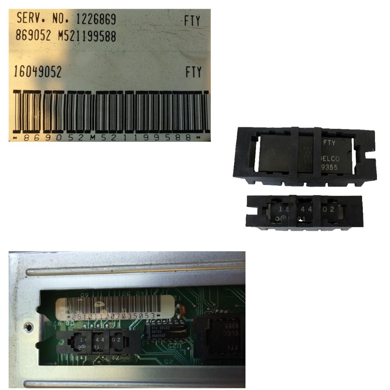 1985 Fiero V6, 4-SPD, ECM PROM and Calpak