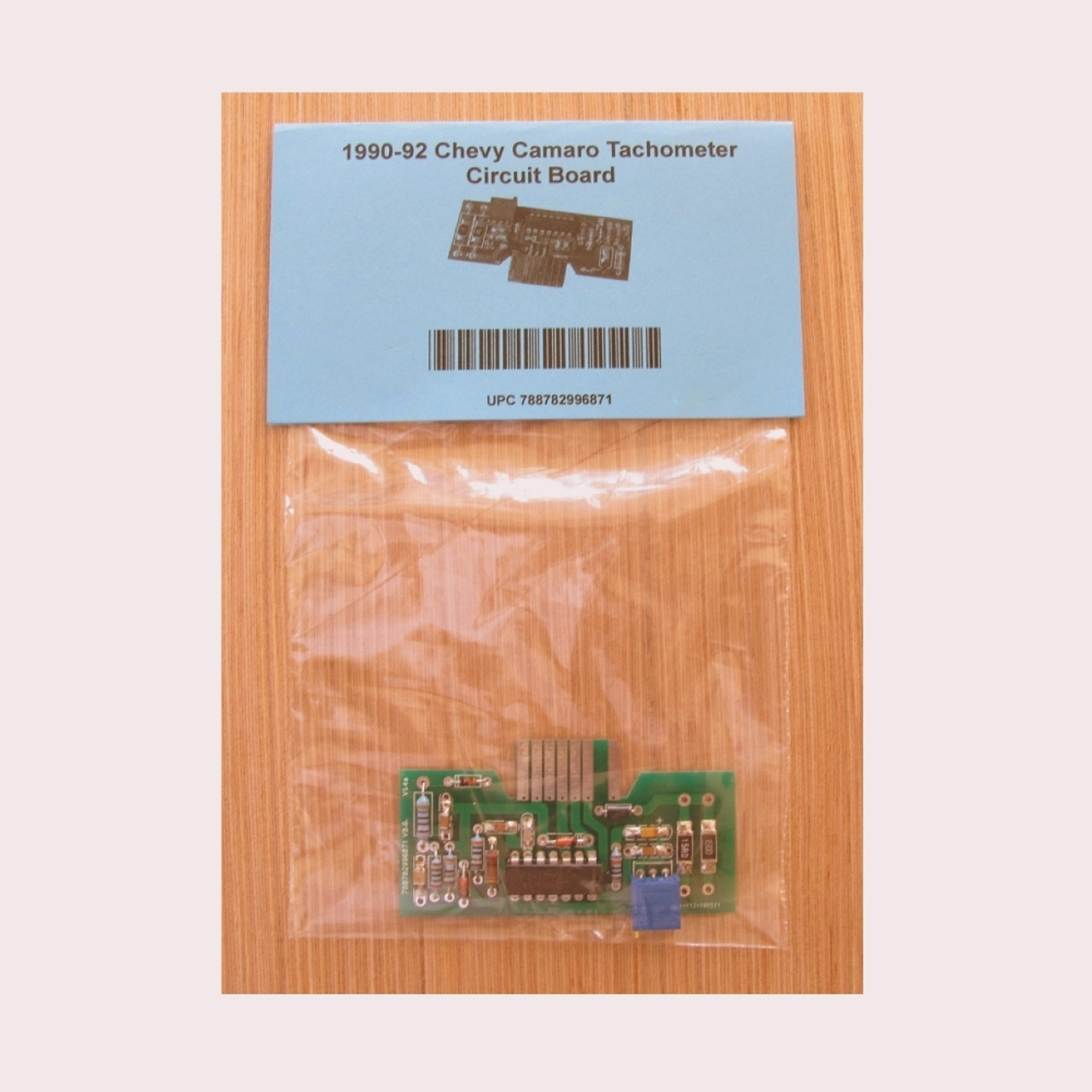 1990-92 Chevy Camaro V8 Tachometer Circuit Board.  LED. Pre-Calibrated. Direct replacement