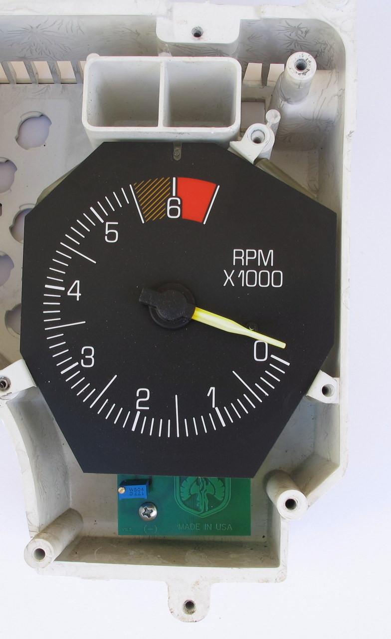1986-88 Pontiac Fiero V6 Tachometer Circuit Board installed