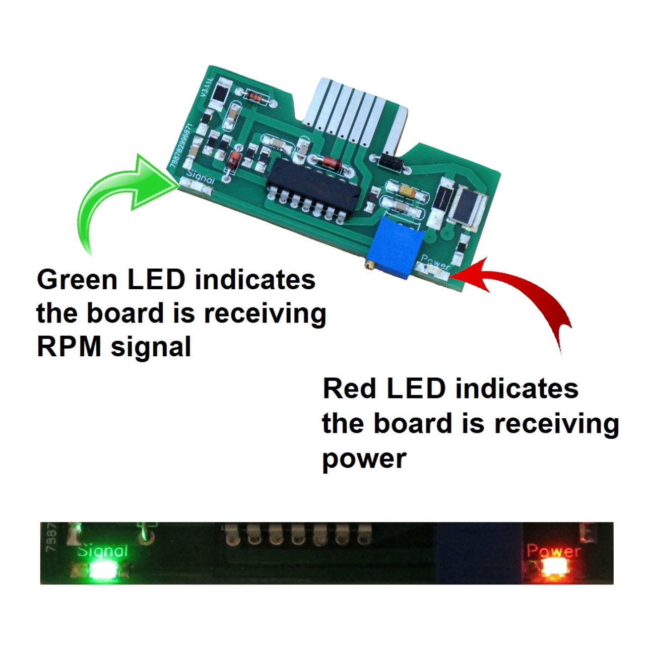 90 91 92 Chevy Camaro V8 Tachometer Circuit Board Leds Pre Wiring Diagram Of A 1991 Calibrated