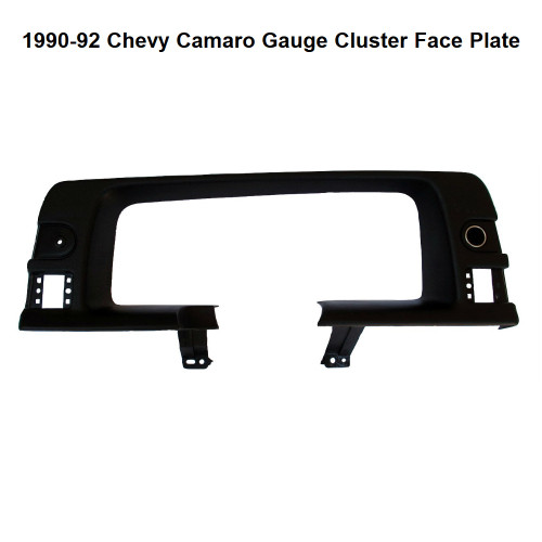 1990-92 Chevy Camaro Gauge Cluster Face Plate - Front