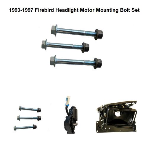 1993-1997 Firebird Headlight Motor Mounting Bolt set