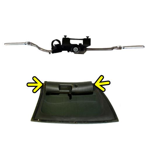 1993-2002 Camaro Firebird T-Top Latch Mechanism. RH