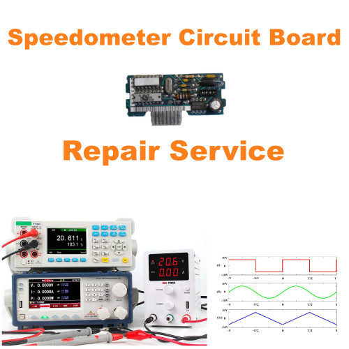 1990-92 Chevy Camaro Speedometer Circuit Board Repair