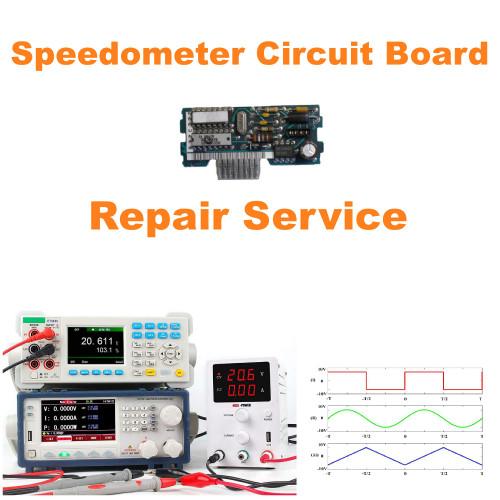 1990-92 Chevy Camaro Speedometer Circuit Board Repair