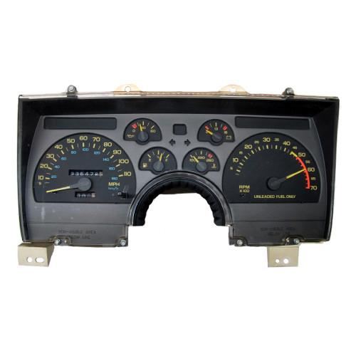 1990, 91, 92 Camaro Instrument Gauge Cluster V8 GM 25088982