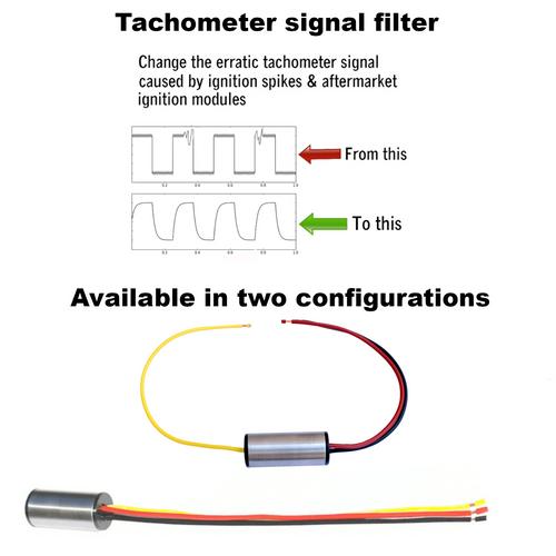 Tachometer signal Filter - Camaro, Firebird, Fiero, Corvette, GM GMC Truck, Monte CarloTachometer signal Filter - Configuration options