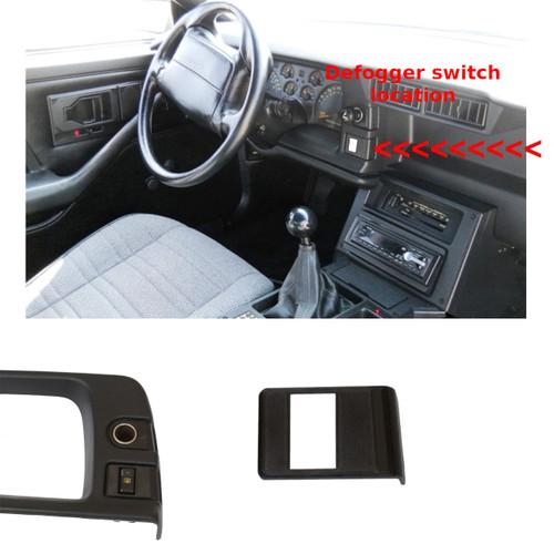 1990-92 Camaro Dash Panel Bezel GM 10095258