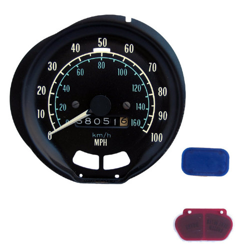 1973-79 Pontiac Firebird 100 MPH GM OEM Speedometer