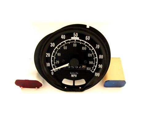 Firebird 100 MPH Speedometer