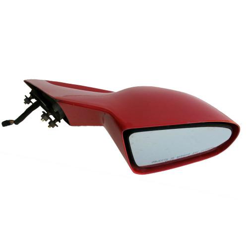 1993-2002 Red Pontiac Firebird GM Power Side view Mirror. RH. Red