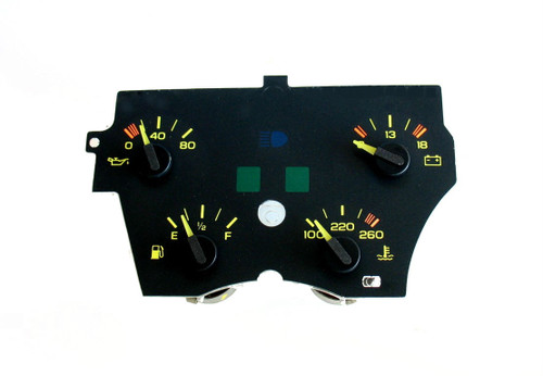 1990-92 Chevy Camaro GM center Gauge Cluster (V6 models)
