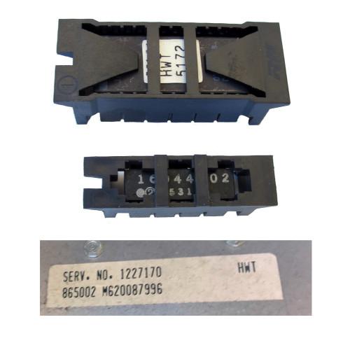 1986 Pontiac Fiero GT, V6 2.8Liter Automatic Transmission California emissions PROM HWT5172 CALPAK 16044802 ECM 1227170