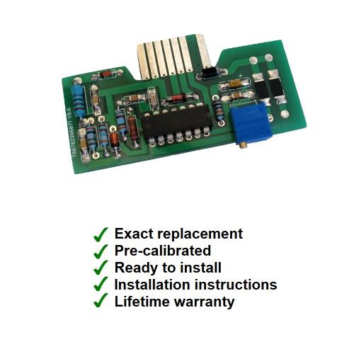 1990-92 Camaro V8 Tachometer Circuit Board. Pre-Calibrated. Direct replacement