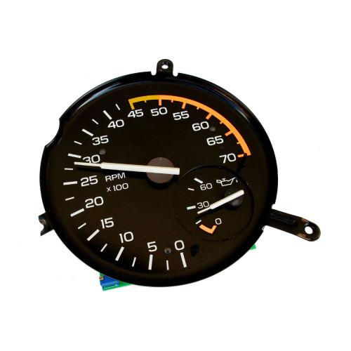 1985-89 Camaro Z28 V8 Tachometer, Oil Pressure Gauge