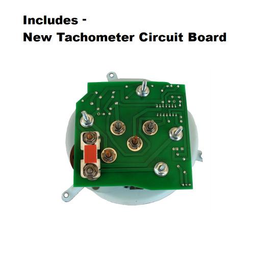 1985-89 Camaro Z28 V8 Tachometer, Oil Pressure Gauge, New Circuit Board