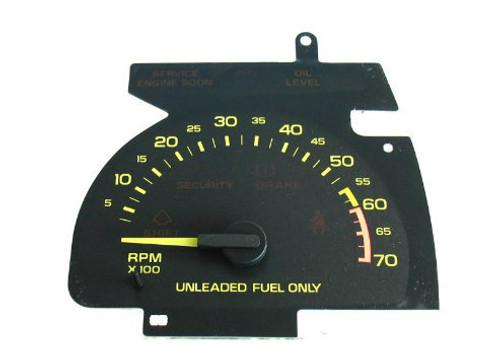 1990, 91, 92, Chevy Camaro V6 Tachometer