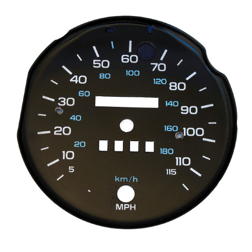 1982-1989 Camaro 115 MPH Speedometer Face Plate