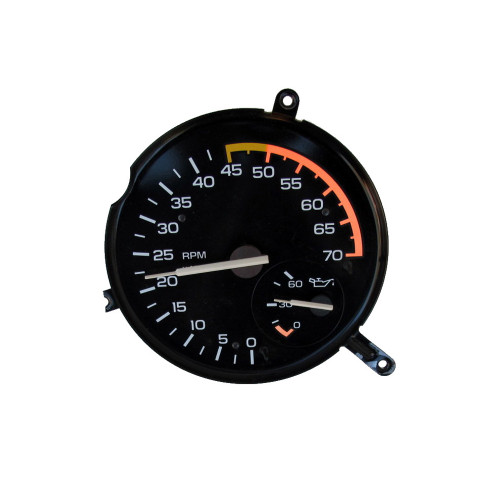 1985-87 Camaro Z28 V8 Tachometer, Oil Pressure Gauge + New Circuit Board