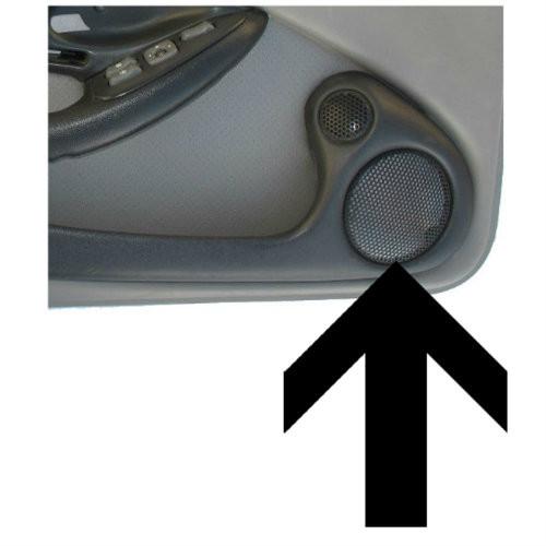1993-2002 Pontiac Firebird Door Panel Bose Speaker Grille. GM