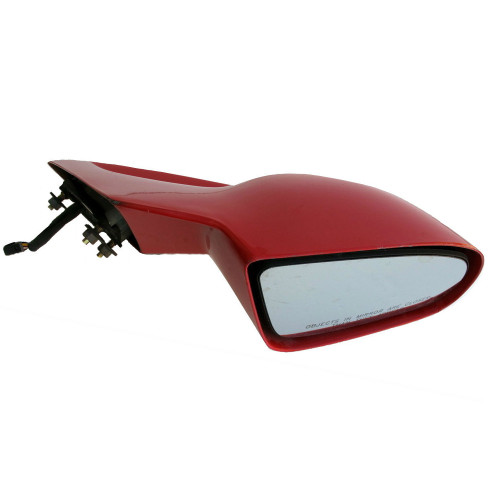 1993-2002 Red Pontiac Firebird GM Power Side view Mirror. RH. Red