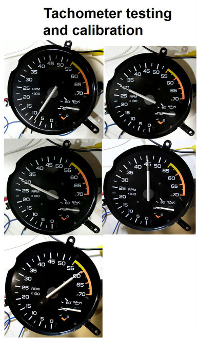 1985-89 Camaro V6 Tachometer & Oil Pressure Gauge - Tachometer testing