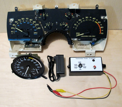 Tachometer Tester - 1967-1992 Camaro, Firebird, 1960's - early 1990's GM