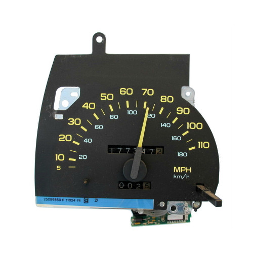 1990, 91, 92 Chevy Camaro 110 MPH Speedometer and Circuit Board