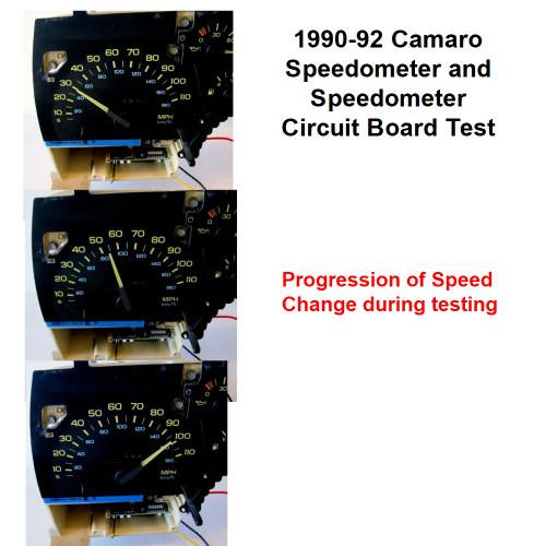 90, 91, 92 Chevy Camaro 110 MPH Speedometer