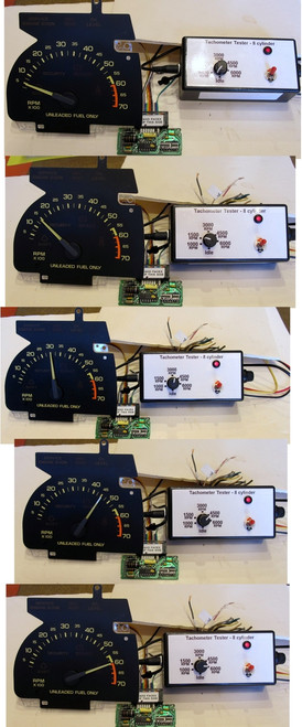 1990-92 Chevy Camaro Tachometer and GM V8 Circuit Board