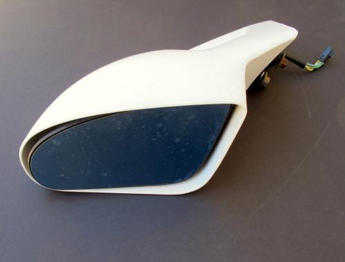 1993-2002 Pontiac Firebird, Trans Am, Formula, GM Power Side view Mirror. LH. White