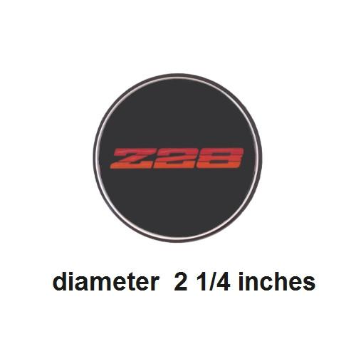 1982-1992 Camaro Z28 Wheel Center Cap Emblems NOS Style 3