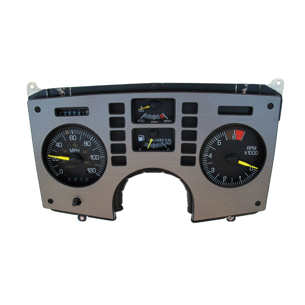 How To Remove And Install A Pontiac Fiero Gauge Cluster Westcoast Kes