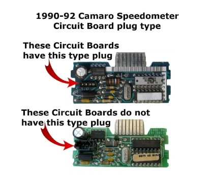 1990-92 Camaro Speedometer components.