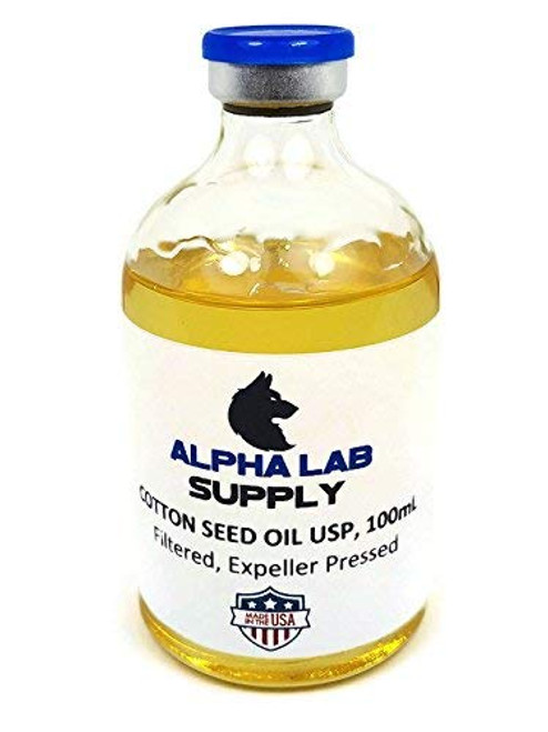Cotton Seed Oil USP/NF Grade, 100ml