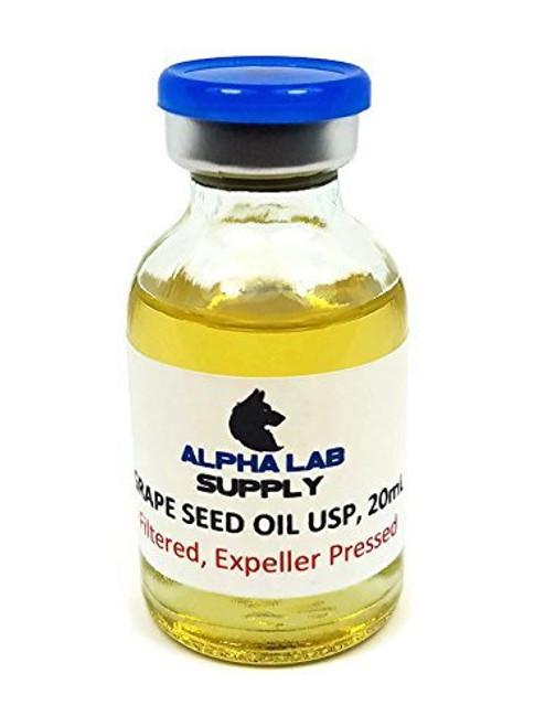 Grape Seed Oil USP/NF Grade, 20ml