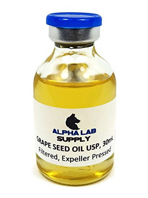 Grape Seed Oil USP/NF Grade, 30ml