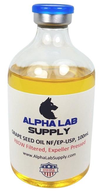 Grape Seed Oil USP/NF Grade, 100ml