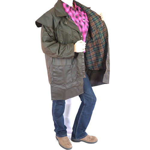 Bendigo Clothing 3Q Oilskin Coat image