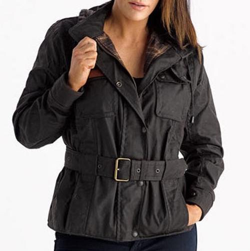 womens oilskin jacket image