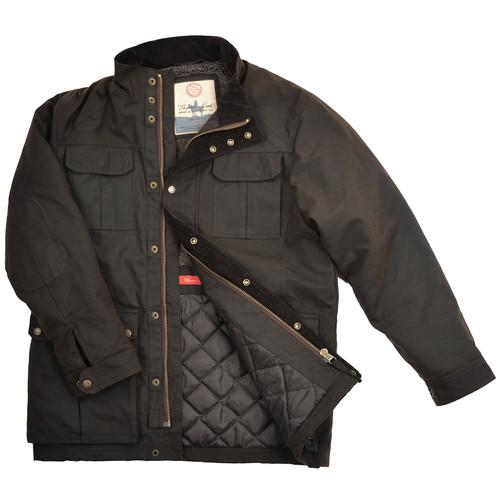 thomas cook tarcutta oilskin jacket image