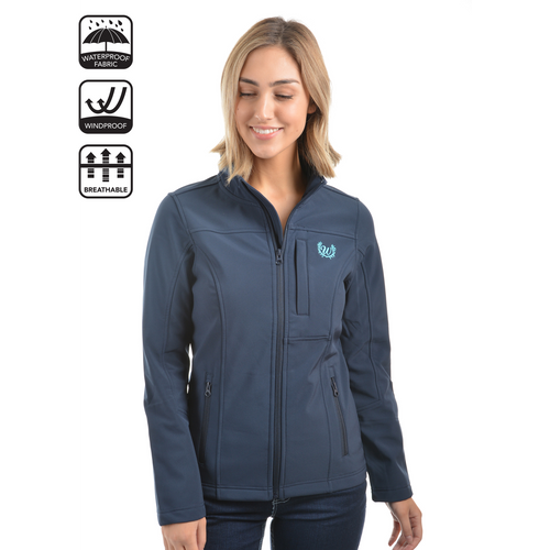 wrangler womens softshell jacket