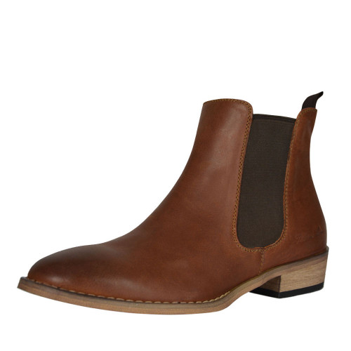 thomas cook chelsea leather boot