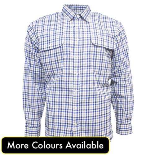 bisley long sleeve brushed shirt