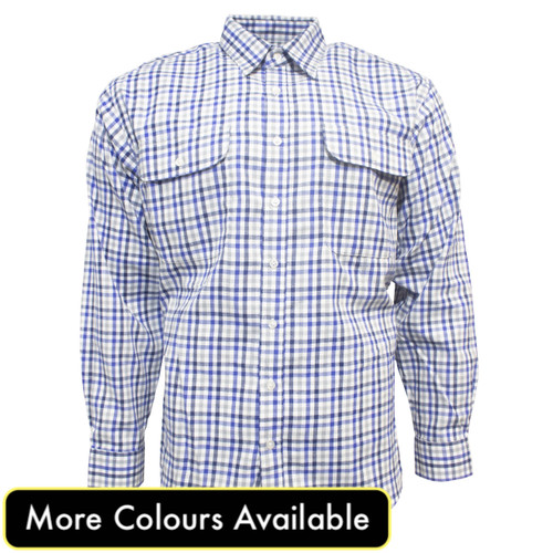 Bisley Mens Winter Long Sleeve Shirt