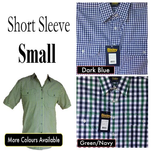 Bisley Mens Countryman Short Sleeve Shirt Small