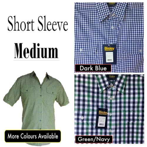 Bisley Mens Countryman Short Sleeve Shirt Medium