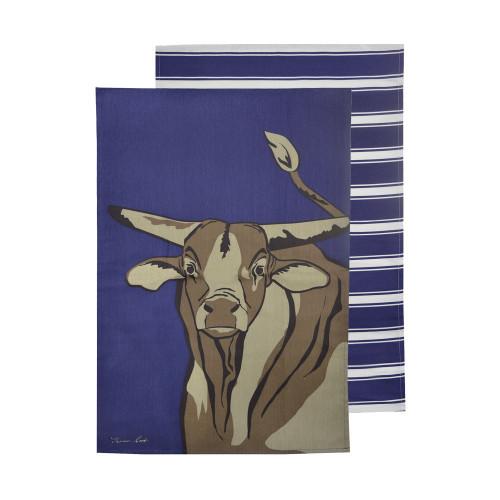 Thomas Cook Tea Towel Bull