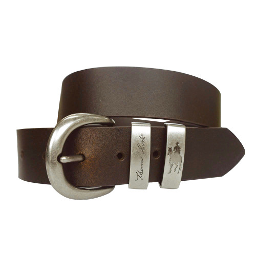 Thomas Cook Twin Keeper Leather Belt Brown