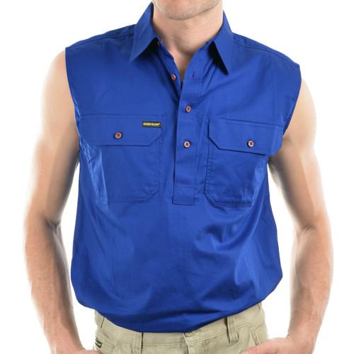 Hard Slog Mens Sleeveless Shirt